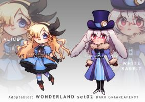 Adoptables : WONDERLAND set02 [CLOSED] by MrDark91