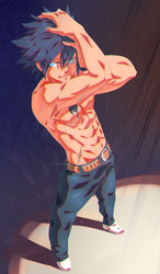 Fairytail - Gray Fullbuster by SeyNox