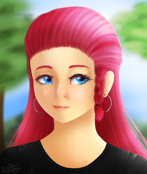 Star Stable character by Wika4007