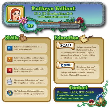 Resume - Short Version by ValliantCreations
