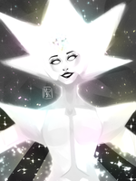 White diamond by MissRavenna