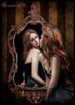Queen and magic mirror... by moonchild-ljilja