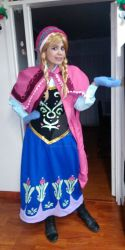 Picture: My Princess Anna Costume. by Shadoru-Flames
