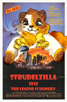 [flash prompt] STRUDELZILLA!!! by irlnya