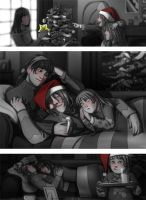 Faberry Waiting for Santa by patronustrip