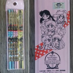 Sailor moon pencils by avaneshop