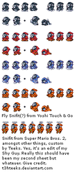 Snifit Sprite Sheet by T3hTeeks