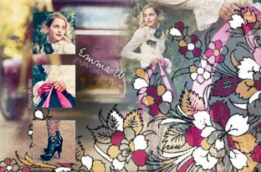 Emma Watson collage by Hannah-Vee