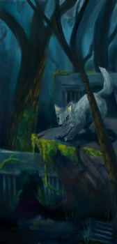 Young wolf by sofie-arts