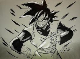 Goku Blackd by MikeES