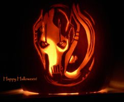 Grievous Pumpkin by doodlingdruid