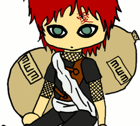 Gaara Doll -- Mine XD by SummerKittyGirl