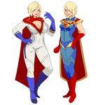 [Injustice 2] Super Powers by DeeTheArtist