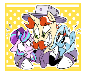 Step Right Up Little Ponies! by thegreatrouge