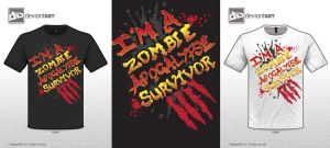 I'm a Zombie Apocalypse Survivor by Killswitch-Chris