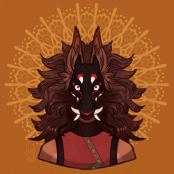 Art Fight 2018 - 27 The-bull-moose by LiLaiRa