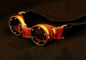 mah motorcycle goggles by Inquisitiveclay