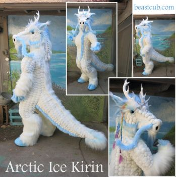 Arctic Ice Kirin by LilleahWest