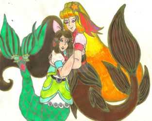 Nixie and Chantelle's Reconciliation Hug by Winter-Colorful