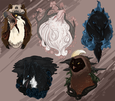 Stryx Crests by Winterfaux
