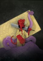 HELLBOY par S.P.STOCK by FROG-and-TOAD
