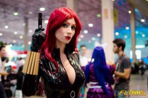 Black Widow cosplay by adami-langley
