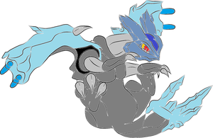 Frost The Kyurem by nerotoxin06