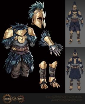 Aspect of the Avian Armour by Eedenartwork