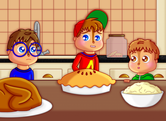 Happy Thanksgiving!!! by chibialvin