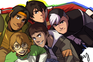 Voltron Crew by Mababwion1