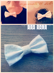 Pure white embelished hair bow: FOR SALE POLL by sugarnote