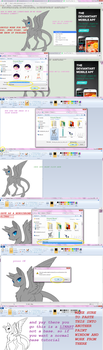 How To Make ANY BASE/LINEART MS PAINT FRIENDLY by mlppegasister