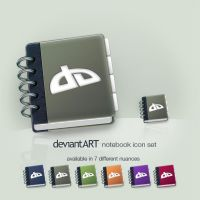 deviantART notebook icon set by Tamachan87