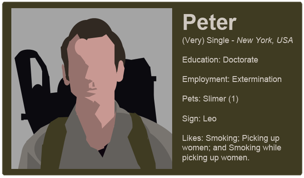 Dating Fictions - Peter by TheNYRD