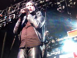Marilyn Manson Concert by naturebe