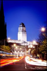 Leeds Uni - by night by PGDsx