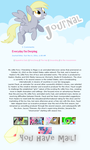 Derpy Journal CSS Skin by StarlightLore