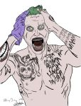 New Joker from Jared Leto in Suicide Squad (Flat) by jdremix