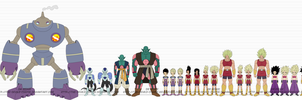 DBR Team Universe 6 (U6) by The-Devils-Corpse