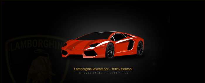 My Best Design - Lamborghini Aventador by iBrushART