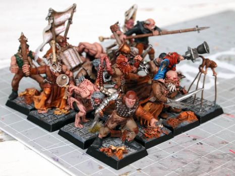 skaven cultists by Nordic-Dragon