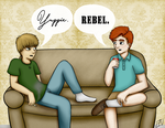 Yuppie/Rebel by Emylian