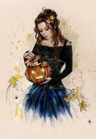 Trick or treat by Anna-Marine