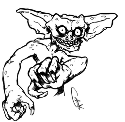 Gremlins-like creature by GTK666