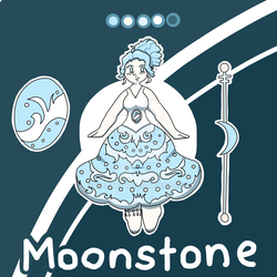 Moonstone -=- Custom for VivieMarie by Natidot
