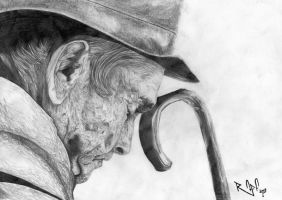 Old Thinker by ryster17