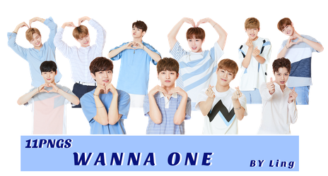 [PNG PACK]WANNA ONE 11PNGS-3 by l8686837