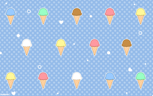 Ice Cream Wallpaper by sosogirl123