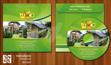 Mock Up Cover CD - Villa Lemon @ Lembang by Mahadjatis