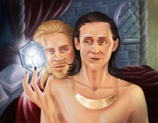 It's our power, brother. [Thor/Loki] by the-ALEF
